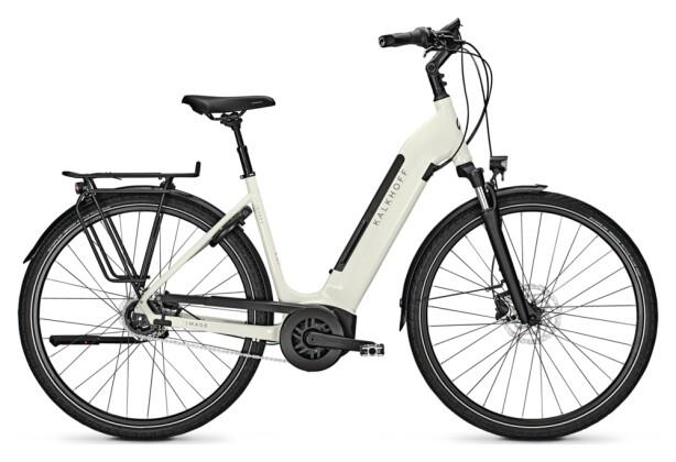 e-Citybike Kalkhoff IMAGE 3. B ADVANCE white Wave 2021