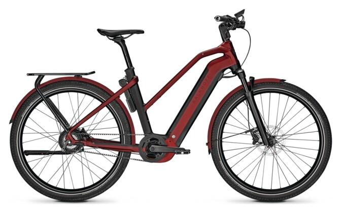 e-Citybike Kalkhoff ENDEAVOUR 7.B BELT black/red D 2021