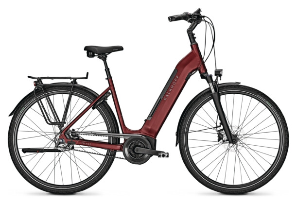 e-Citybike Kalkhoff IMAGE 3. B EXCITE red Wave 2021