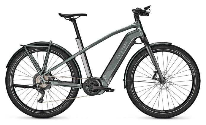 e-Trekkingbike Kalkhoff ENDEAVOUR 7.B PURE black/green H 2021