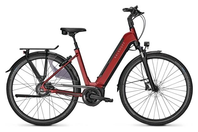 e-Citybike Kalkhoff IMAGE 5.B BELT BLX red Wave 2021