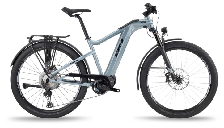 e-Trekkingbike BH Bikes XTEP CROSS PRO Grey-Black 2021
