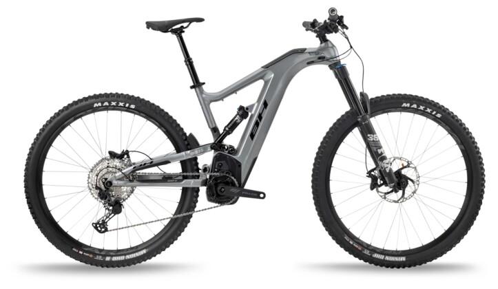 e-Mountainbike BH Bikes ATOMX CARBON LYNX 6 PRO Grey-Black 2021