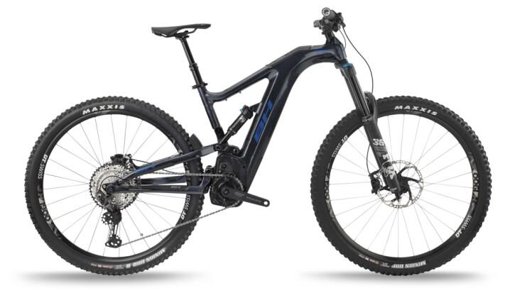 e-Mountainbike BH Bikes ATOMX CARBON LYNX 5.5 PRO-S Grey-Blue 2021