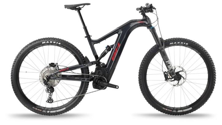 e-Mountainbike BH Bikes ATOMX CARBON LYNX 5.5 PRO Grey-Red 2021