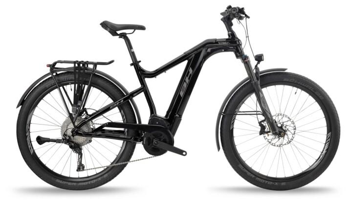 e-Mountainbike BH Bikes ATOMX CROSS PRO Black-Silver 2021