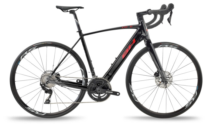 e-Rennrad BH Bikes CORE RACE 1.2 Black-Grey-Red 2021
