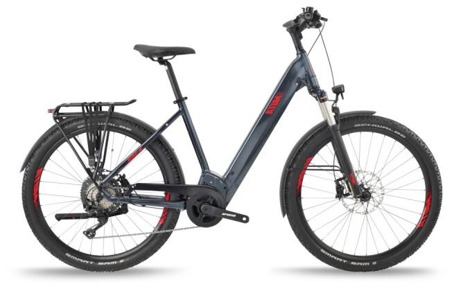 e-Trekkingbike BH Bikes ATOMS SUV PRO-S Silver-Red 2021