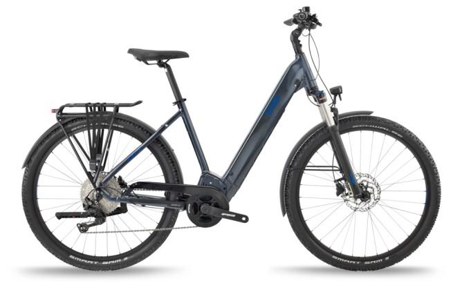 e-Trekkingbike BH Bikes ATOMS SUV PRO Silver-Blue 2021