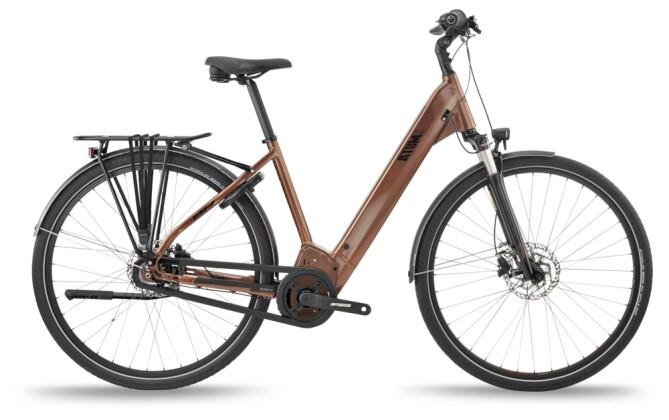 e-Citybike BH Bikes ATOMS DIAMOND WAVE PRO-S Copper-Black 2021