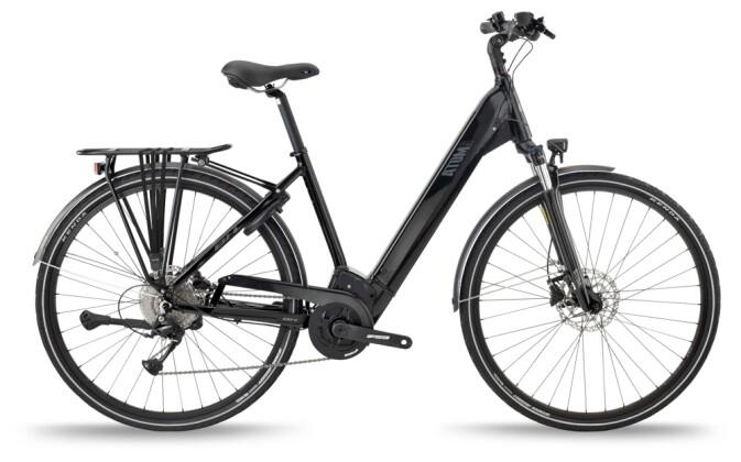 e-Trekkingbike BH Bikes ATOMS CITY WAVE PRO Black-Silver 2021