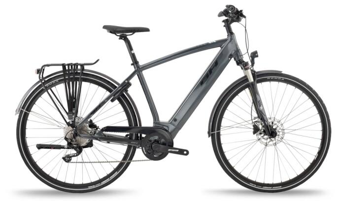e-Trekkingbike BH Bikes ATOM CROSS PRO Grey-Black 2021