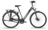 e-Citybike BH Bikes ATOM DIAMOND WAVE PRO Anthracite-Silver