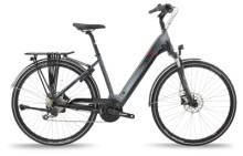 e-Trekkingbike BH Bikes ATOM CITY WAVE PRO Grey-Black-Red