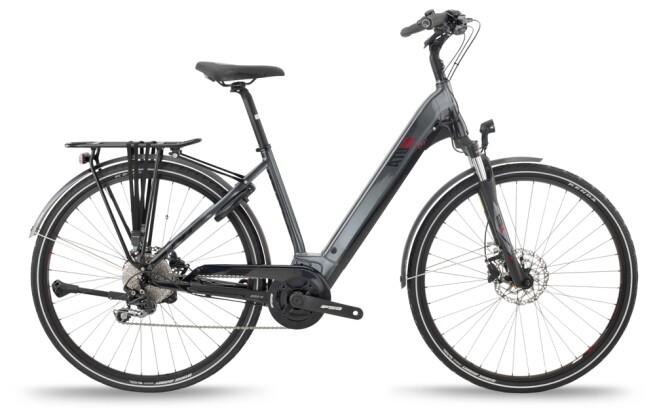 e-Trekkingbike BH Bikes ATOM CITY WAVE PRO Grey-Black-Red 2021