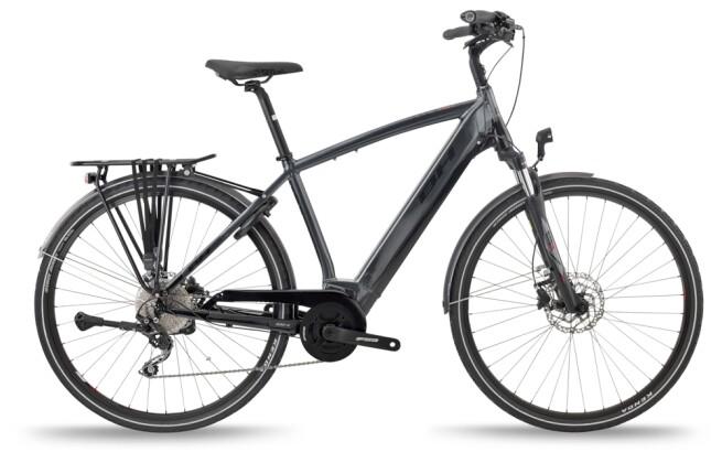 e-Trekkingbike BH Bikes ATOM CITY PRO Grey-Black-Red 2021