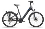 e-Trekkingbike BH Bikes ATOM STREET PRO Grey-Black-Blue