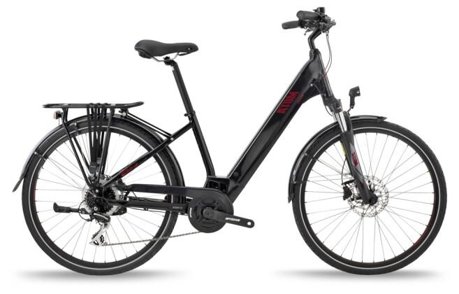 e-Trekkingbike BH Bikes ATOM STREET Black-Red 2021