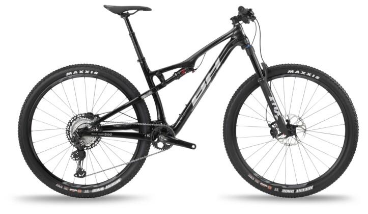 Mountainbike BH Bikes LYNX RACE CARBON RC 7.5 LT Metal Black-Red 2021