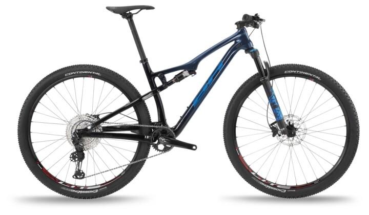 Mountainbike BH Bikes LYNX RACE CARBON RC 6.0 Black-Blue 2021