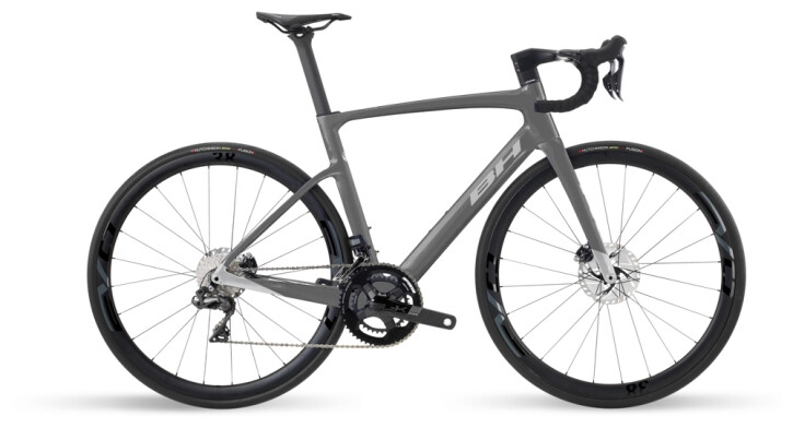Race BH Bikes RS1 5.0 Black-Silver 2021