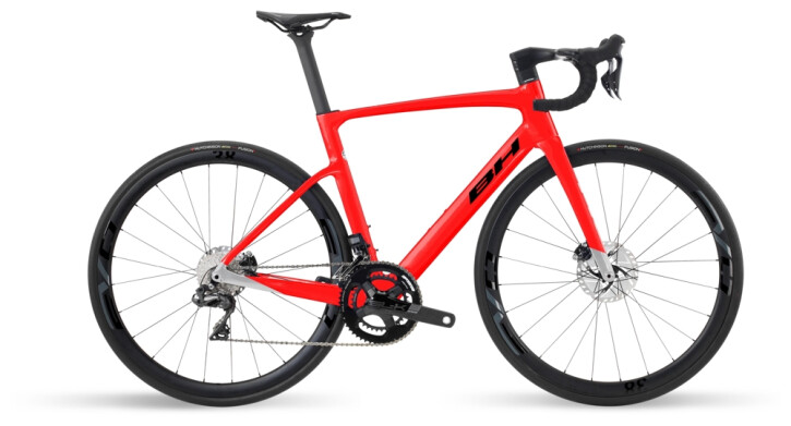 Race BH Bikes RS1 5.0 Red-Grey-Black 2021