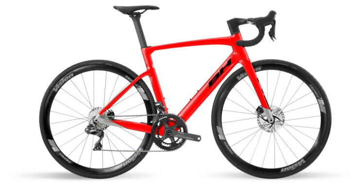 Race BH Bikes RS1 4.5 Red-Grey-Black 2021