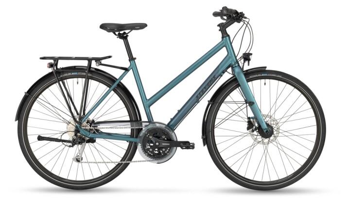 Trekkingbike Stevens Galant Lite Lady Silver Blue 2021