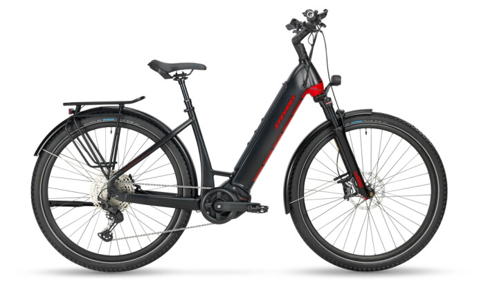 e-Trekkingbike Stevens E-Universe 9.6 Plus FEQ Forma Stealth Black 2021