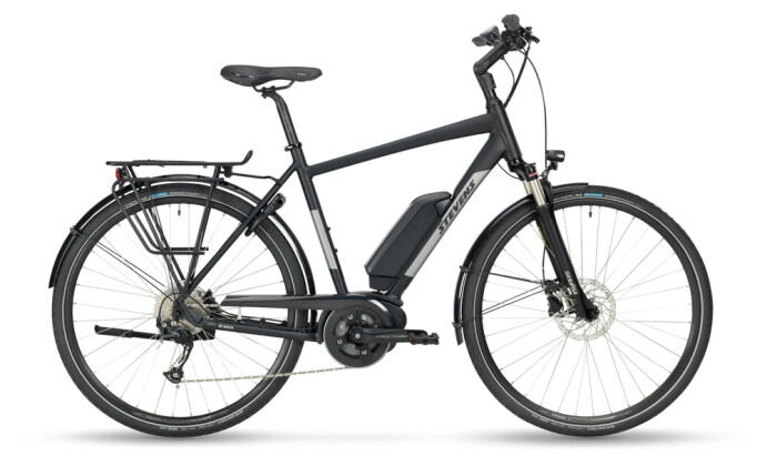 e-Trekkingbike Stevens E-Molveno Gent Velvet Black 2021