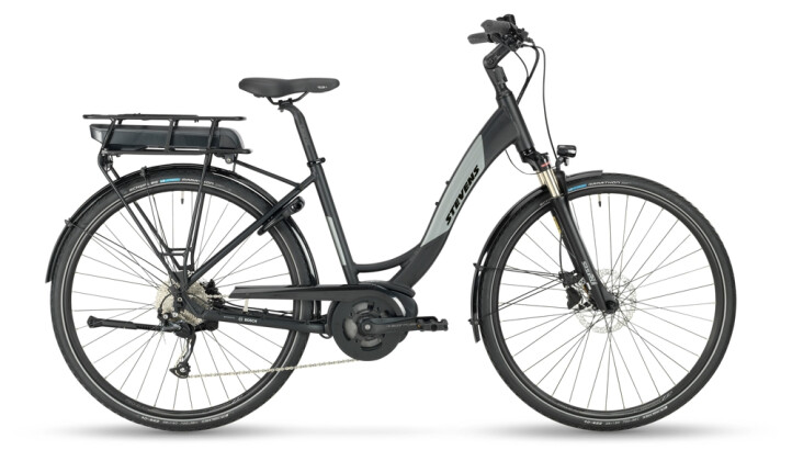 e-Trekkingbike Stevens E-Molveno Forma Velvet Black 2021