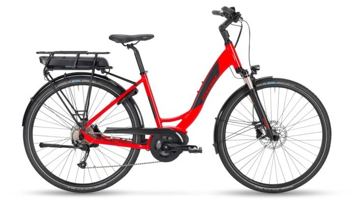e-Trekkingbike Stevens E-Molveno Forma Deep Red 2021