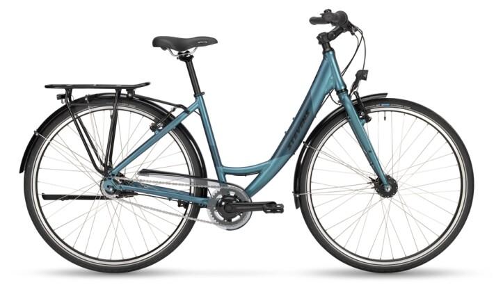 Citybike Stevens Elegance Lite Forma Silver Blue 2021