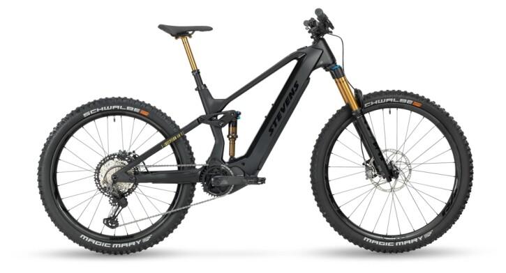 e-Mountainbike Stevens E-Inception AM 9.7 GTF Stealth Black 2021