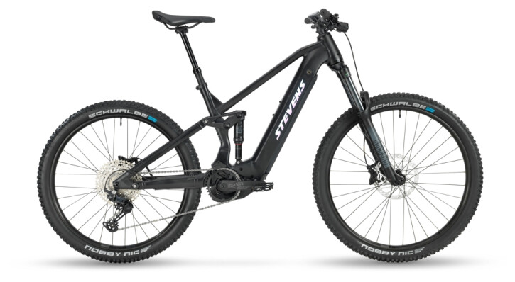 e-Mountainbike Stevens E-Inception AM 6.6 Stealth Black 2021