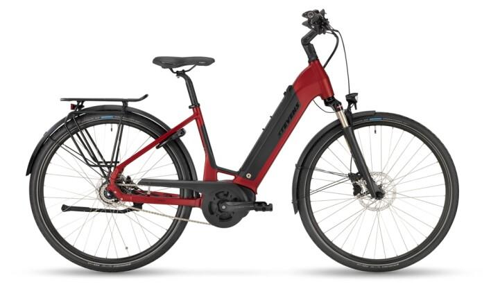 e-Citybike Stevens E-Courier PT5 Forma Red Pepper 2021