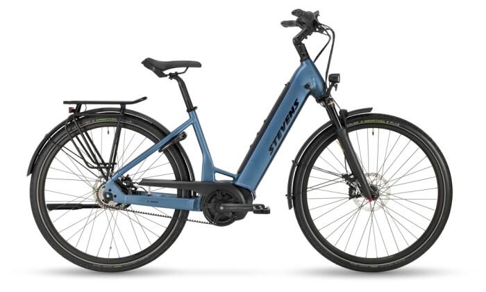 e-Citybike Stevens E-Courier Plus Forma Silver Blue 2021