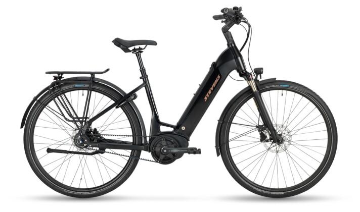 e-Citybike Stevens E-Courier Luxe Forma Stealth Black 2021