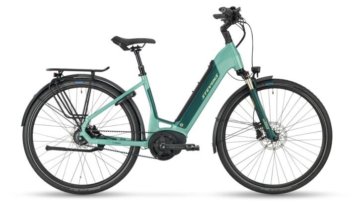 e-Citybike Stevens E-Courier Luxe Forma Mid Heather Green 2021