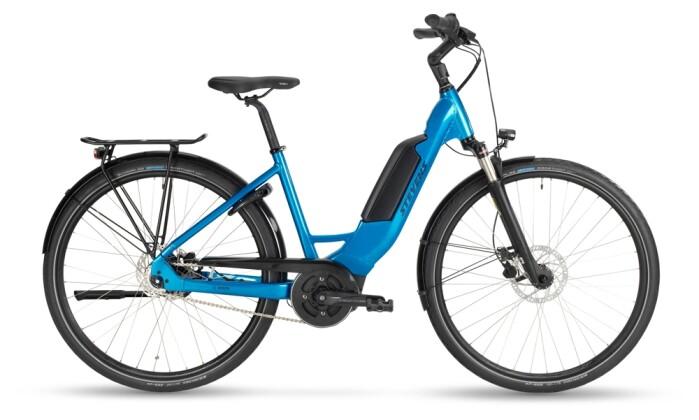 e-Citybike Stevens E-Circle Forma Glacier Blue 2021