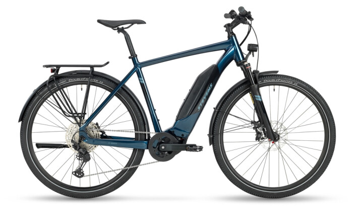 e-Trekkingbike Stevens E-8X Tour Gent India Ink 2021