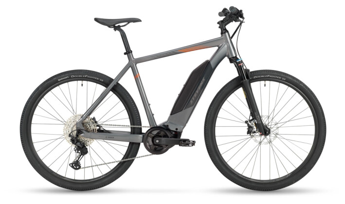 e-Crossbike Stevens E-8X Gent Meteor Grey 2021