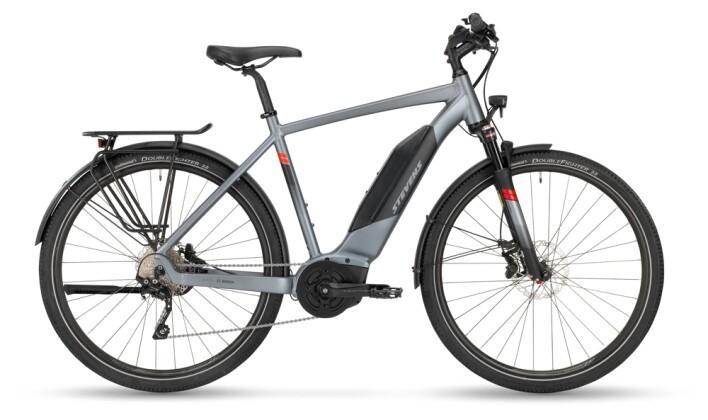 e-Trekkingbike Stevens E-6X Tour Gent Foggy Grey 2021