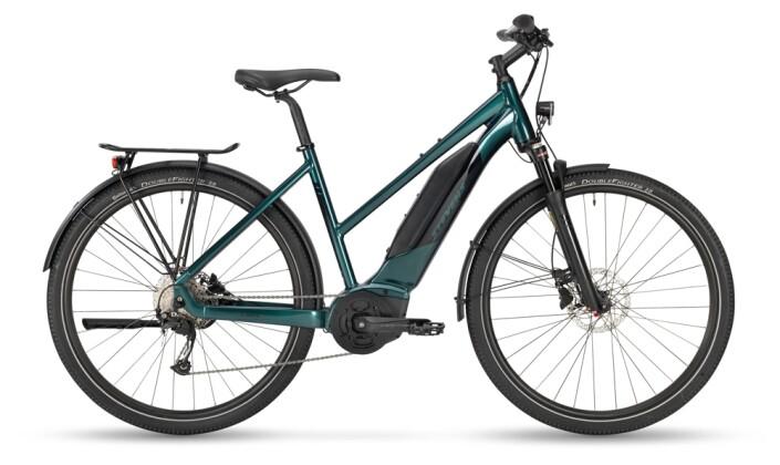 e-Trekkingbike Stevens E-4X Tour Lady Glazed Green 2021