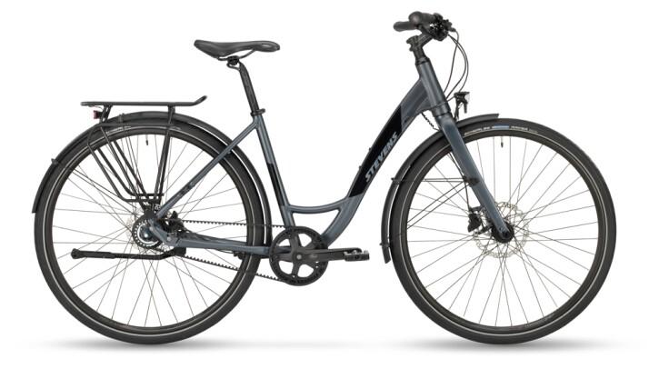 Citybike Stevens Courier Luxe Forma Granite Grey 2021
