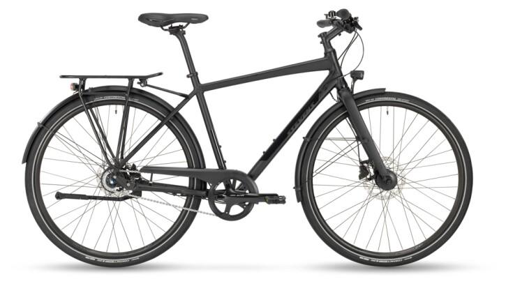 Citybike Stevens Courier Lite Gent Stealth Black 2021