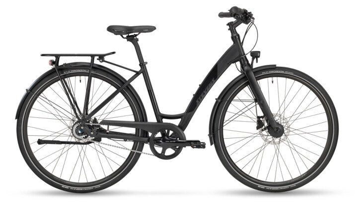 Citybike Stevens Courier Lite Forma Stealth Black 2021