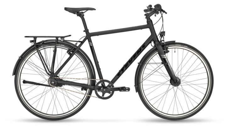 Citybike Stevens City Flight Gent Stealth Black 2021