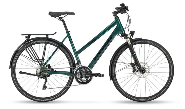 Trekkingbike Stevens 7X Tour Lady Bottle Green 2021