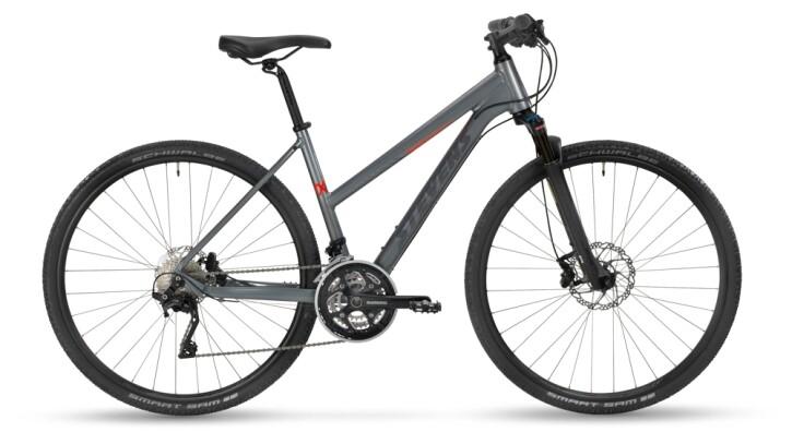 Crossbike Stevens 7X Lady Meteor Grey 2021